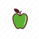 apple, food, fresh, fruit, meal icon