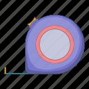 construction, repair, roulette, tool icon