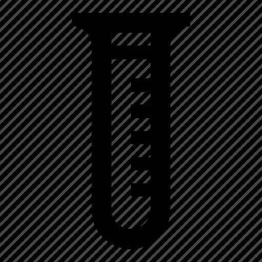 chemistry, liquid, measure, test, testtube, tube icon