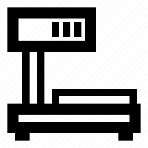 degital, electronic, machine, measure, scale, weight icon