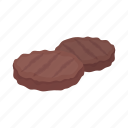 cooking, cutlet, dish, food, grill, meat, steak icon
