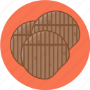 grilled, ham, meat, pork icon