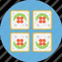 sashimi, sushi icon