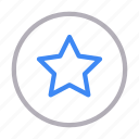 medal, premium, rank, star, winner icon