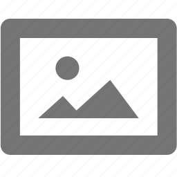 drawing, gallery, image, mountain, photo, picture icon
