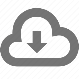 business, cloud, computer, download, internet, network, office icon