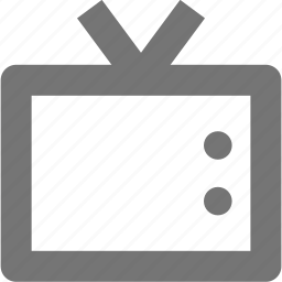 broadcast, monitor, player, television, tv, video icon