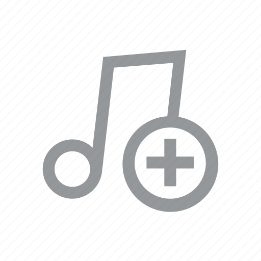 add, konnn, music, note, play, player, song icon