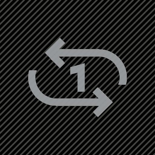 konnn, loop, music, play, player, song icon