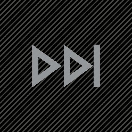 forward, konnn, music, play, player, rewind, song icon