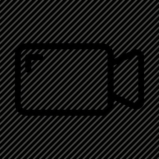 media, play, recorder, social, video icon