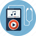 audio, earphones, headphones, mp3, music, player, sound icon