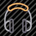 audio, gadget, headphone, media, music