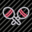 instrument, media, music, rattle, shake icon