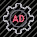 ad, advertisement, configure, marketing, setting