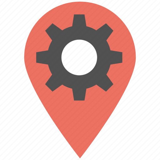 in-place optimization, location settings, place marker, place optimization, service location icon