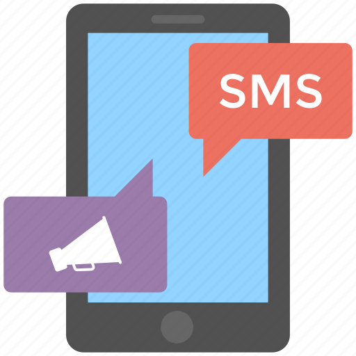 mobile social network, promotional sms, sms marketing, viral marketing, viral message icon