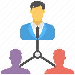 multi-level marketing, network marketing, pyramid selling, sales people, sales strategy icon
