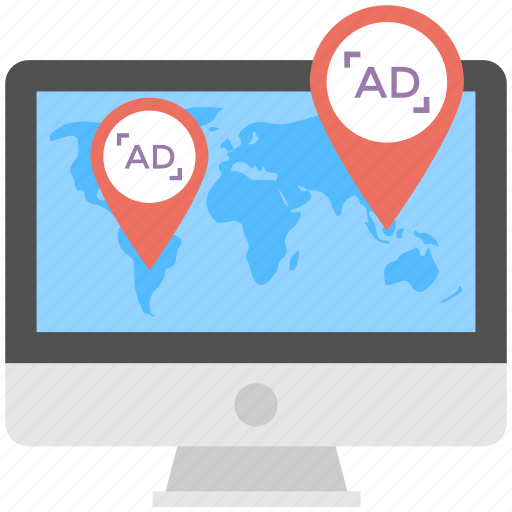 local business marketing, local online advertising, local online customers, local online marketing, local search marketing, location targeting, online marketing platform icon