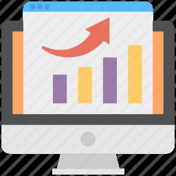 analyze seo performance, measuring seo success, search engine performance, seo performance, seo performance tracking icon