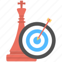 campaign strategy, plan, strategy, target, targeted marketing icon