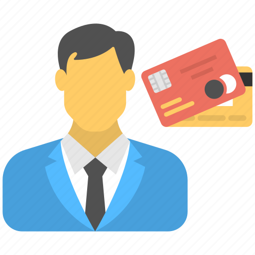 business card, business payment, businessman card, credit card holder, shareholder icon