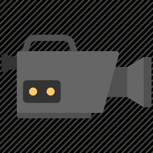 recorder cam, video cam, video recorder, video recording, videography icon