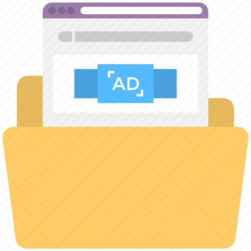 advertisement plan folder, advertising presentation template, informative marketing material, sales presentation binder, sales presentation folder icon