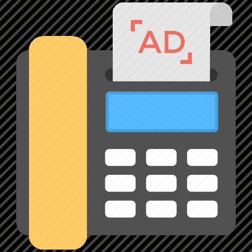 direct marketing, telecommerce, telemarketing, telephone advertising, telesales icon