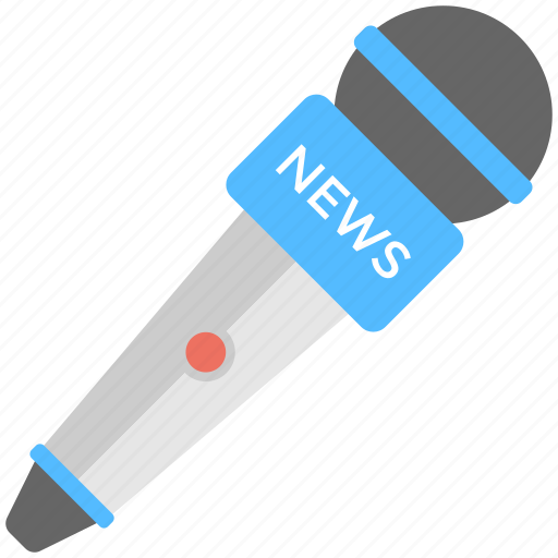 breaking news, latest news, live events, live marketing, news announcement icon