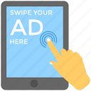 digital advertising, mobile advertising, mobile marketing, mobile media, viral marketing icon