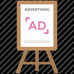 advertising stand, billboard ad, digital billboards, outdoor advertising, signboard icon
