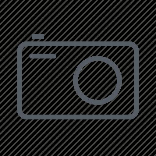 camera, compact, lens, photo, photography icon