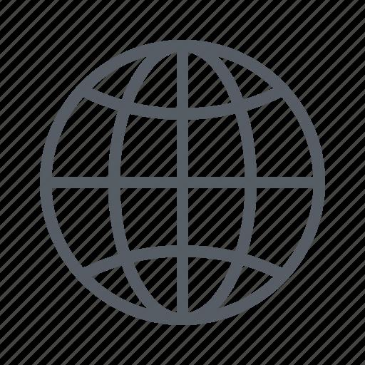 earth, globe, internet, web, world icon