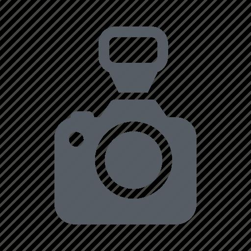 camera, digital, flash, lens, photo, studio icon