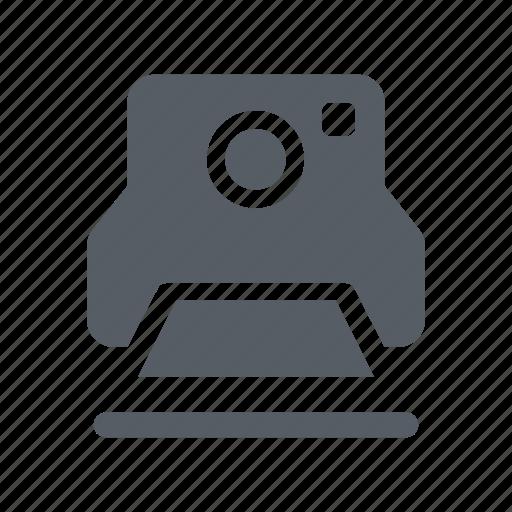 camera, photo, picture, polaroid, vintage icon