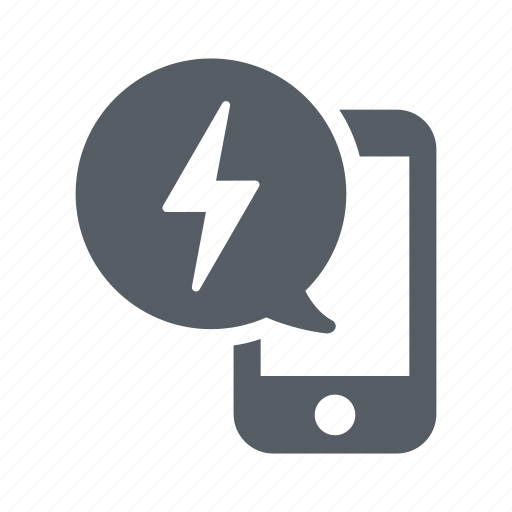 charge, communication, mobile, phone, power icon