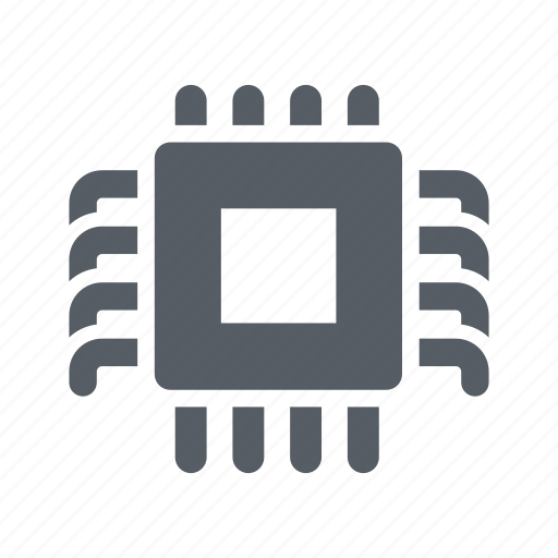 chip, circuit, computer, cpu, processor, technology icon