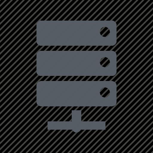 center, data, database, network, server, technology icon