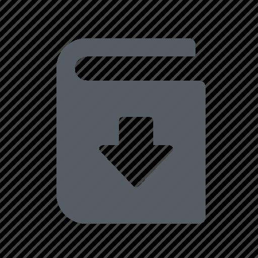 audio, book, digital, download, e icon