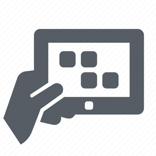 computer, device, mobile, tablet, technology icon