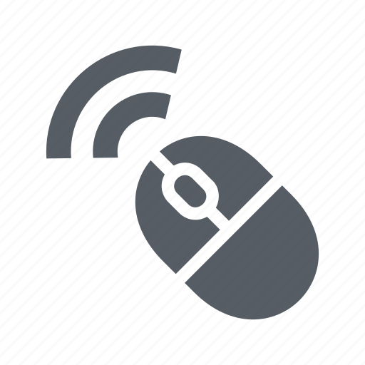 computer, device, mouse, technology, wireless icon