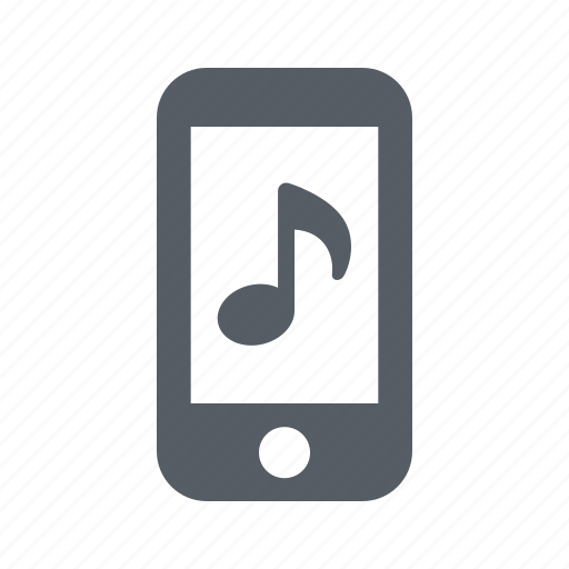 communication, mobile, mp3, music, phone, player icon