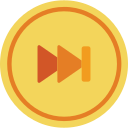 audio, forward, media, media player, music, skip, video player