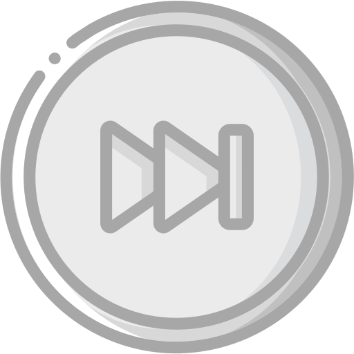 audio, forward, media, media player, music, skip, video player icon