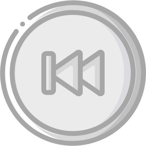 audio, backward, media, media player, music, skip, video player icon