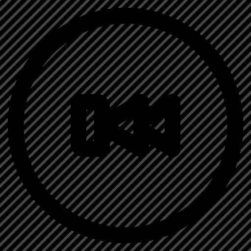 Audio, backward, media, media player, music icon - Download on Iconfinder