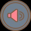 audio, media, media player, music, video player, volume icon