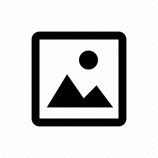 media, photo, type icon