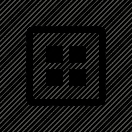 media, portfolio, type icon